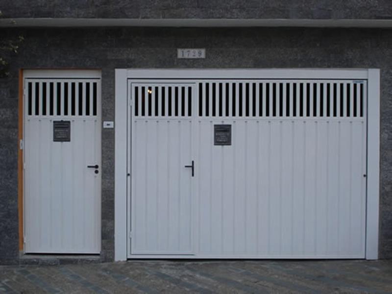 Populares Portão Automático – Lambril em Aço Galvanizado – LAG – 02 | Tok Door FX27