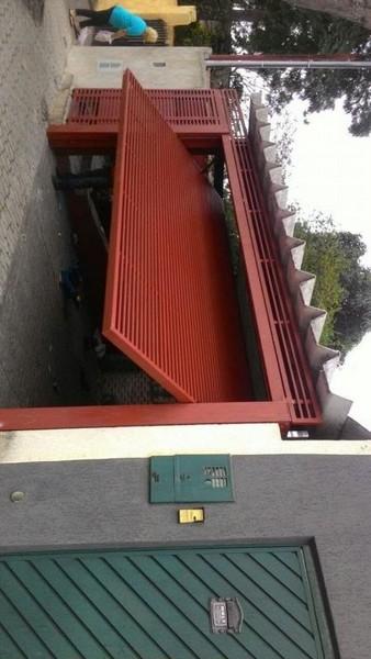 Portão de aço automático são paulo