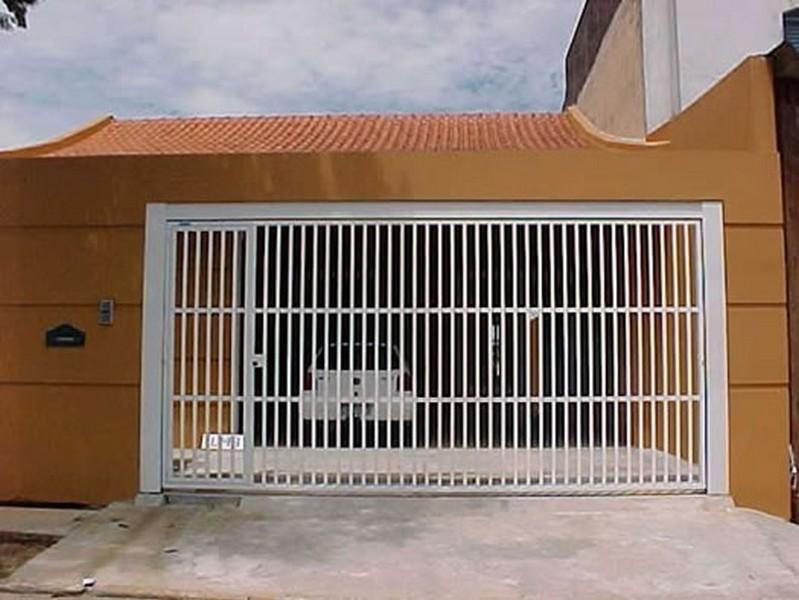 Portões de aço automático preço