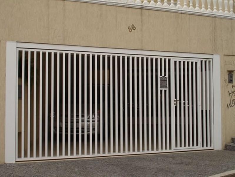 Portões automáticos verticais