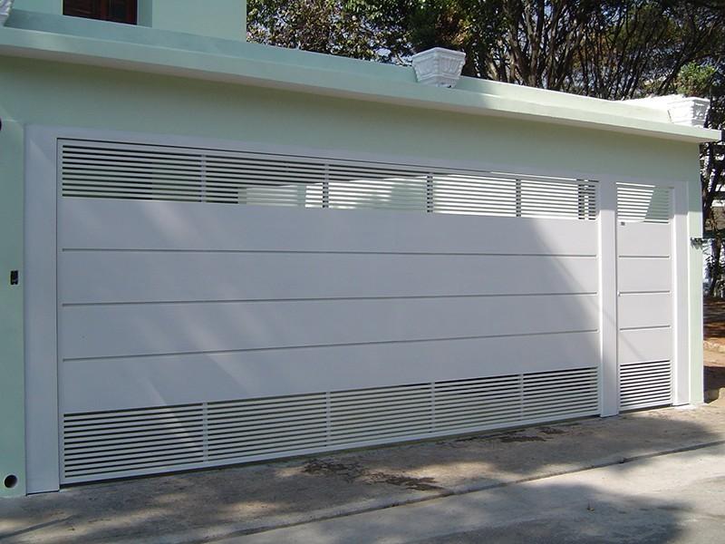 Portões basculantes para garagem preço