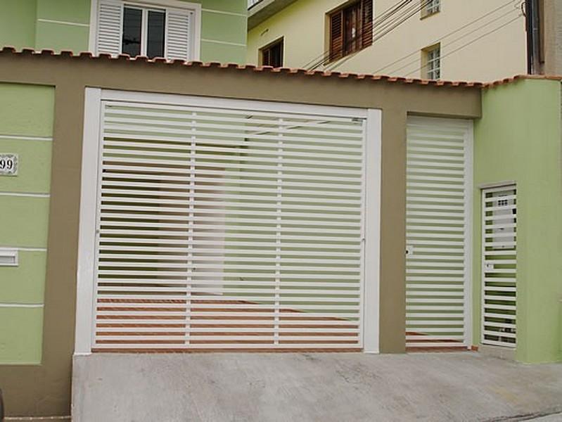 Portões elétricos para garagem