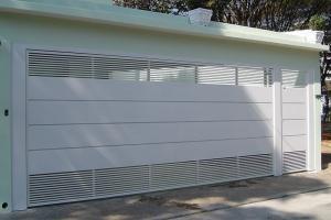 Portão automático para garagem