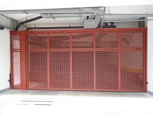 Portão Automático Chapa Perfurada